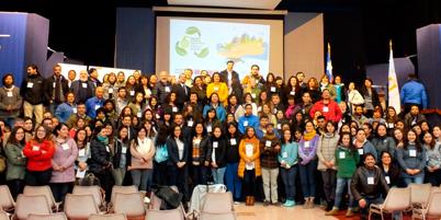 Más de 200 educadores ambientales aprenden contenidos para trabajar por el desarrollo sustentable