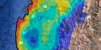 Núcleo frío en altura y Anticiclón frío serían los causantes de las recientes bajas temperaturas en la Región de Coquimbo