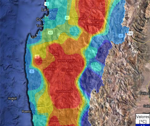 Según CEAZA Met: Disminuirían temperaturas en la Región de Coquimbo el resto de la semana