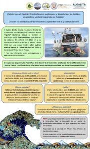 Capitán Charles Moore en Coquimbo: Realizarán taller sobre basura marina con el descubridor de las islas de plástico