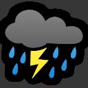 Con probables tormentas eléctricas: Pronostican precipitaciones en la cordillera de Los Andes de las Regiones de Atacama y Coquimbo