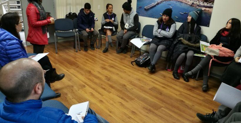 Con apoyo de investigadores CEAZA y UCN estudiantes del Liceo de Tongoy preparan sus investigaciones científicas