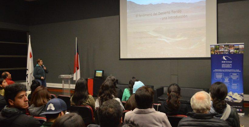 Seminario sobre Desierto Florido: 7% de las 800 especies de plantas del Desierto de Atacama serían no nativas