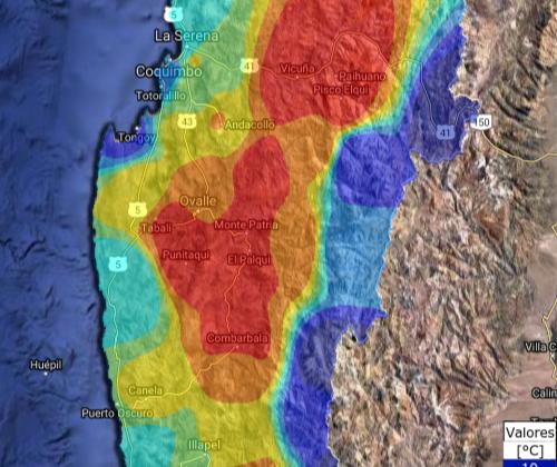 Explican aumento de temperatura del pasado domingo y lunes en la Región de Coquimbo
