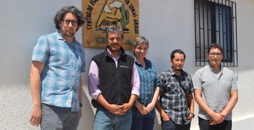 Representantes de la Universidad de la Frontera conocen experiencia hidrometeorológica CEAZA