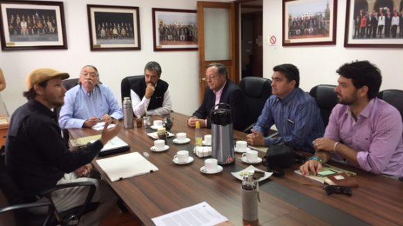 Visitan el CEAZA consejeros de la Región de Los Ríos y director del Centro de Humedales Río Cruces
