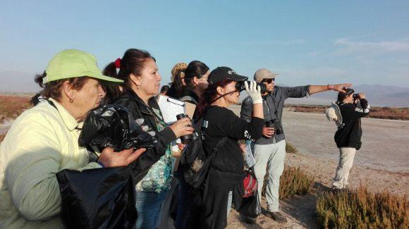 Alta participación en las actividades del Día Mundial de Los Humedales realizadas por CEAZA y otras instituciones en la comuna de La Higuera
