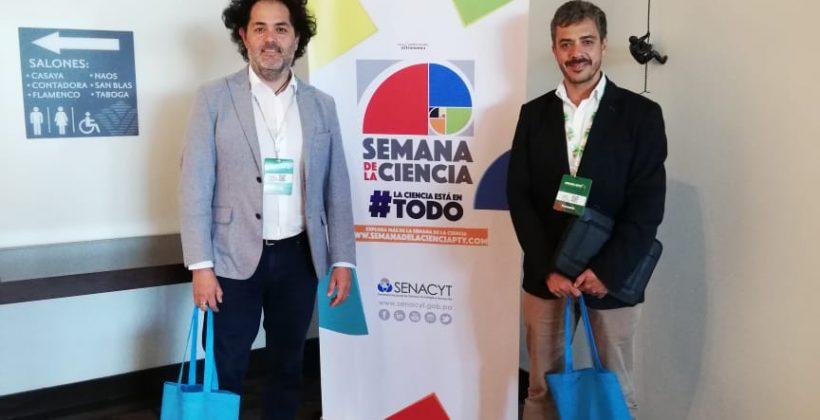 Junto a representantes de otros centros de investigación y de CONICYT: CEAZA presenta su experiencia institucional en la Semana de la Ciencia en Panamá
