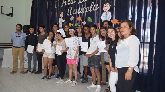 En el marco del cierre de proyecto CONICYT, CEAZA, MUSELS:  Valoran apoyo de científicos en formación de alumnos del Liceo Carmen Rodríguez Henríquez de Tongoy