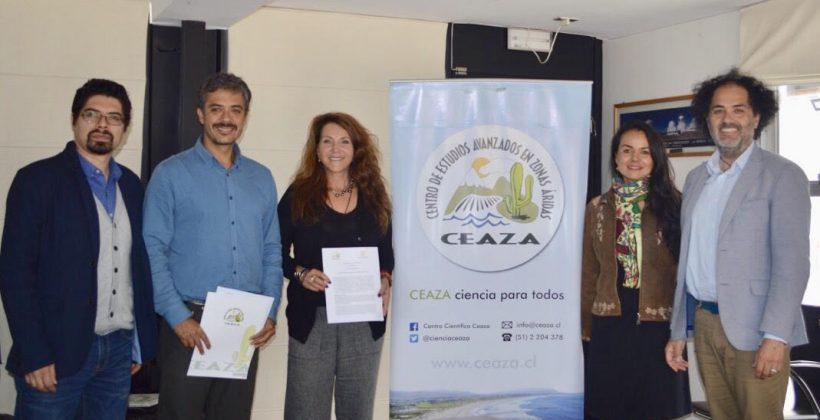 Firman convenio de colaboración entre Fundación Tata Malku y CEAZA