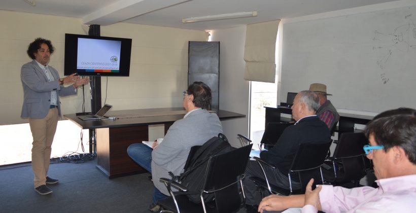 Representantes de CORMINCO asistieron a presentación  sobre la importancia del recurso hídrico en la Región de Coquimbo