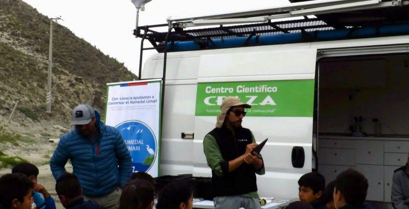 Centro Científico CEAZA llevó la ciencia ciudadana hasta Caleta El Toro