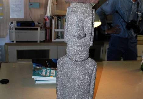 Núcleo Milenio ESMOI: Investigadores UCN-CEAZA participan en ceremonia de entrega de Moai en crucero oceanográfico japonés