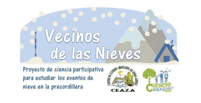 En el Día de la Ciencia Ciudadana, 13 de abril: CEAZA busca expandir monitorización de nieve a través de ciencia ciudadana