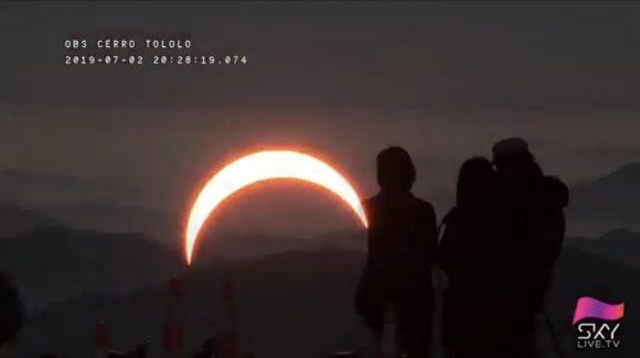 Ola polar favoreció visibilidad del eclipse