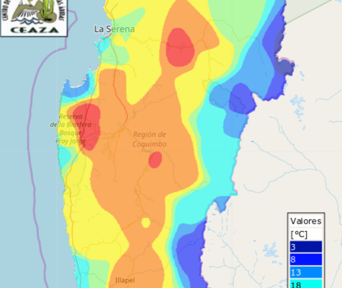 ¿Quieres saber el origen de las altas temperaturas de este martes 13 en la región de Coquimbo?
