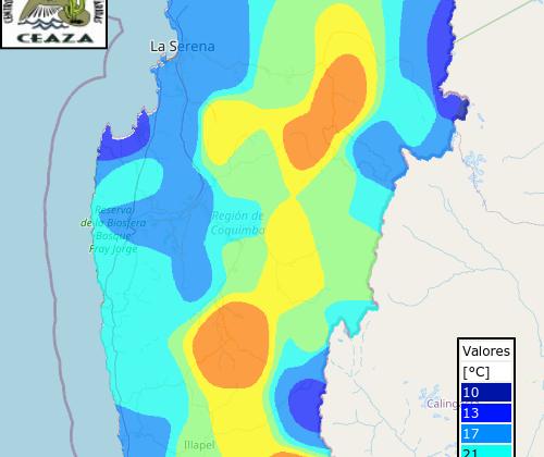 En el Limarí y Choapa: Sobre 30 C° se registraron en la madrugada