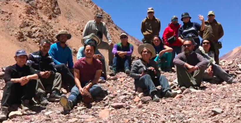 Vecinos de Elqui y Limarí aprenden sobre la nieve en proyecto de ciencia participativa de CEAZA