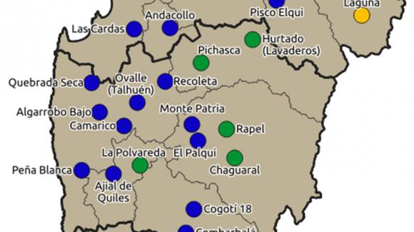 CEAZA realiza análisis de las precipitaciones de junio en la Región de Coquimbo