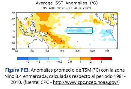 Junto a déficit de precipitaciones:Fenómeno de La Niña afectaría a la Región de Coquimbo durante los próximos meses