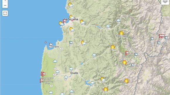 Zona costera de la Región de Coquimbo vive una nublada primavera
