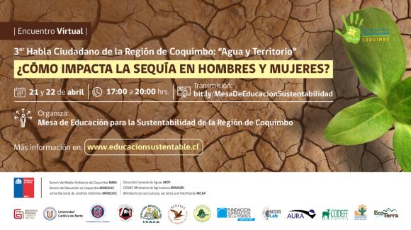 Diálogo ciudadano abordará la sequía con enfoque de género