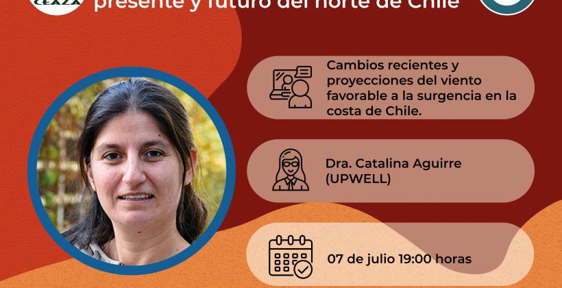 Invitan a Café Científico online sobre cambios y proyecciones de la surgencia costera