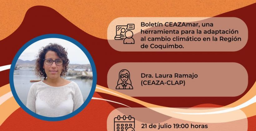 Invitan a Café Científico online sobre nuevo Boletín CEAZAMar dirigido a comunidades costeras